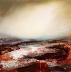 Shadows Edge  by Neil Nelson -  sized 36x36 inches. Available from Whitewall Galleries